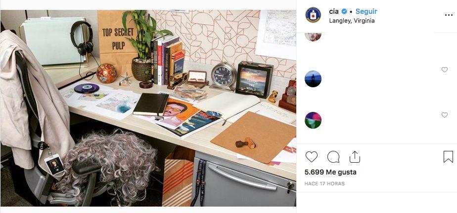 La misteriosa primera publicación de la CIA en instagram