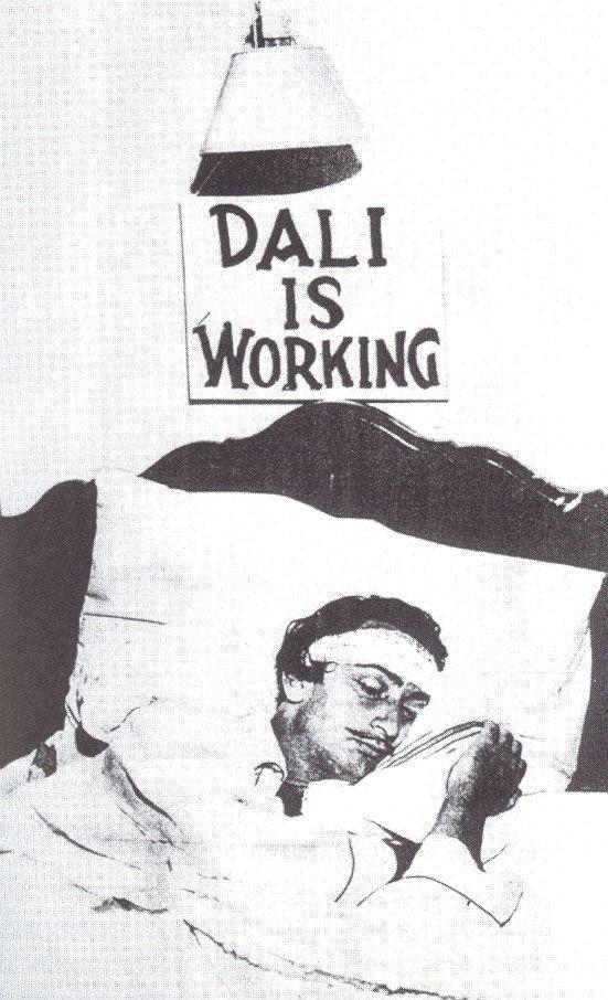 El pensamiento surrealista de Salvador Dalí avivado por el sueño