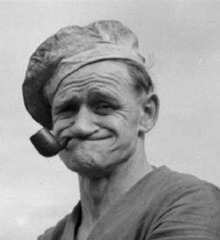 """Frank_""""Rocky"""" Fiegel, el auténtico Popeye"""