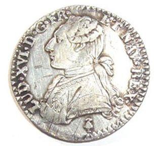 moneda de Luis XVI