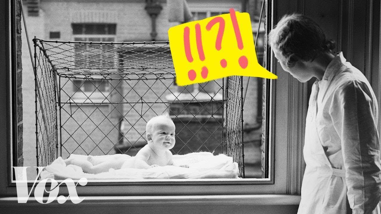 jaulas para bebés, cuando se pusieron de moda las Baby cages