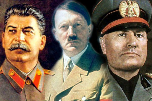 Hitler, Mussolini y Stalin premios Nobel