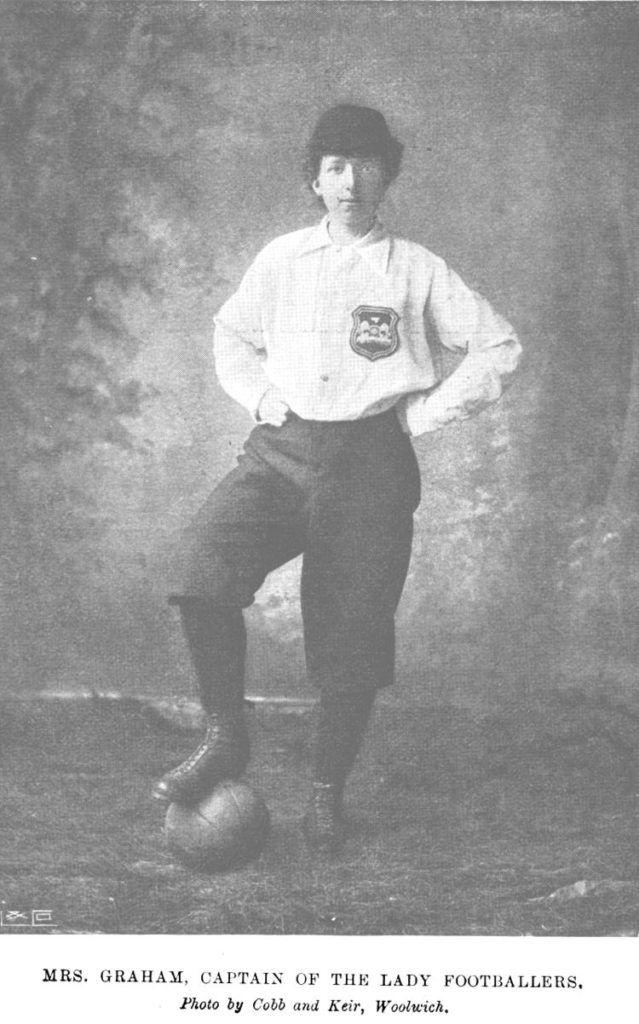 Nettie J Honeyball, pionera del fútbol femenino