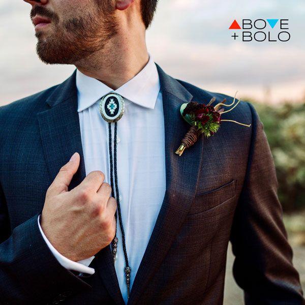 estilo de corbata bolo ties.