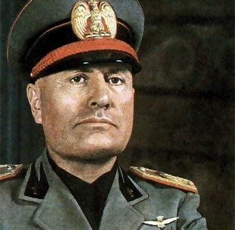 Benito Mussolini, candidato al Nobel de la Paz