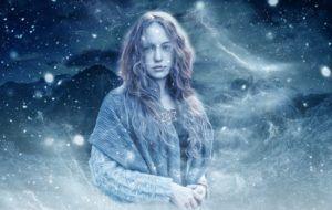 mujer celta