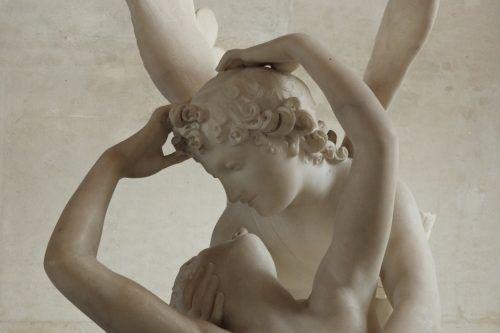 Eros y Psique, por Antonio Canova