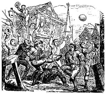 Mobfooty Los inicios del rugby y el futbol