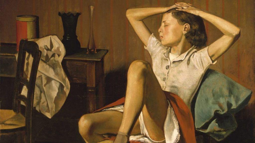 Thérèse Dreaming, de Balthus,