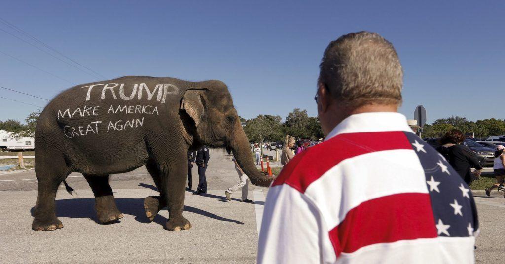 El elefante republicano