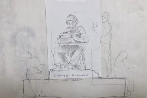 Charles Bukowski tendrá su monumento en California