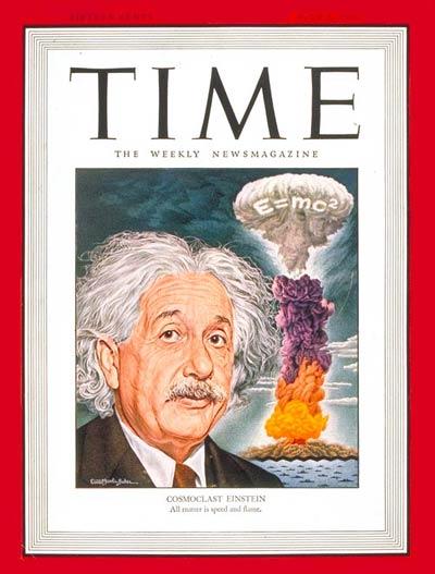 Einstein E = mc2 en la revista Time