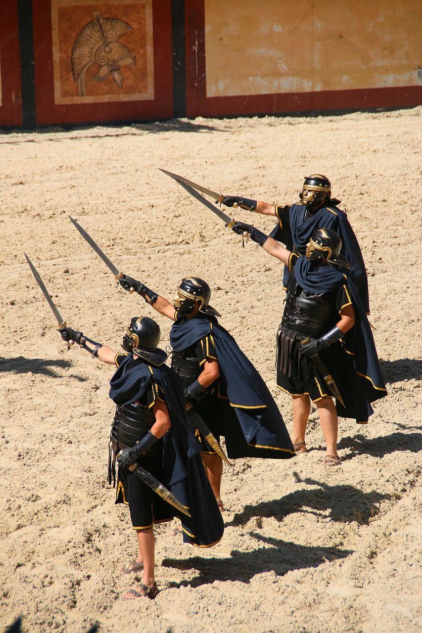 Gladiadores en Roma