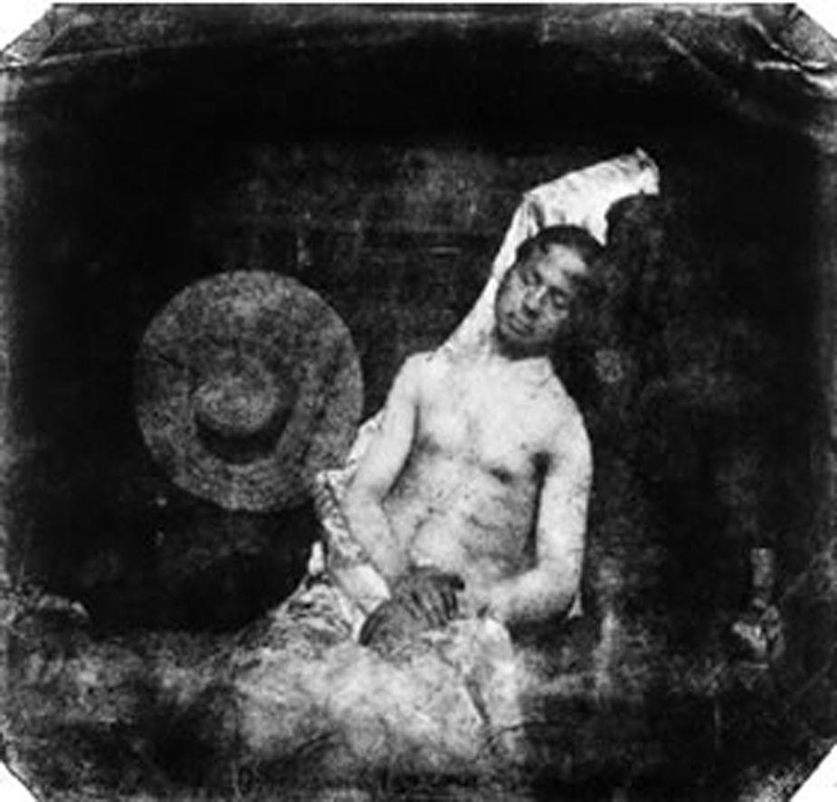 Hippolyte Bayard, 1840. El segundo selfie de la Historia.