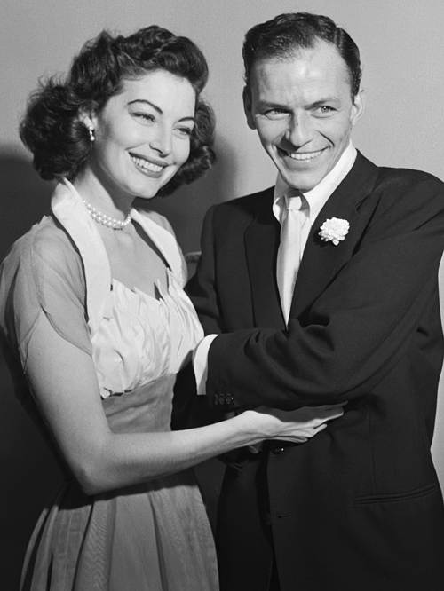La boda de Ava Gardner y Frank Sinatra