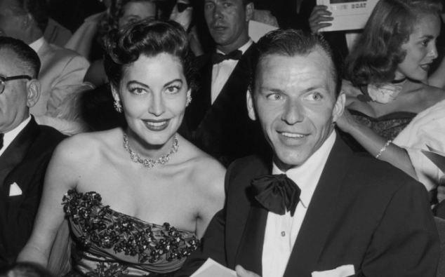 Sinatra y Gardner en el London Palladium