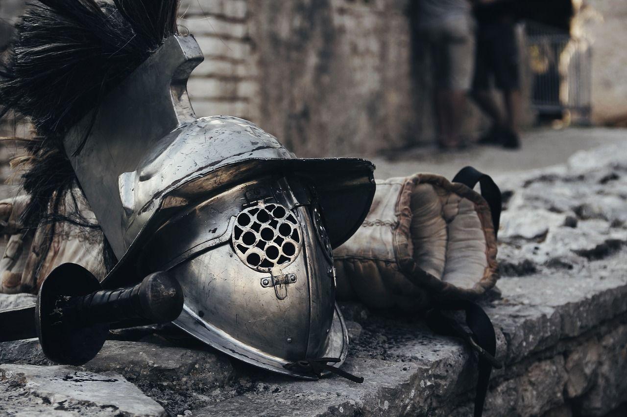 asi vestian los gladiadores