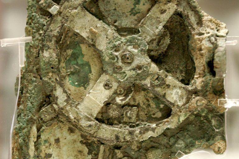 Parte del mecanismo de Anticitera