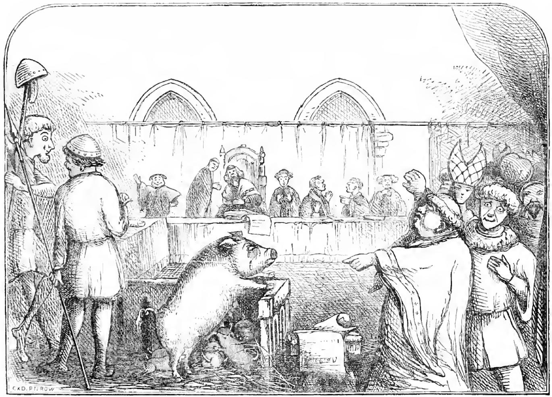 Edad Media: cuando los animales eran juzgados ante un Tribunal