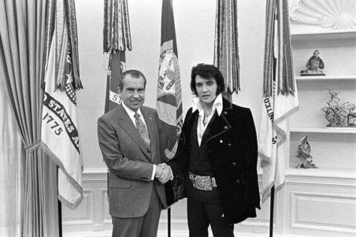 Elvis y Nixon: Cuando el Rey se reunió con el Presidente