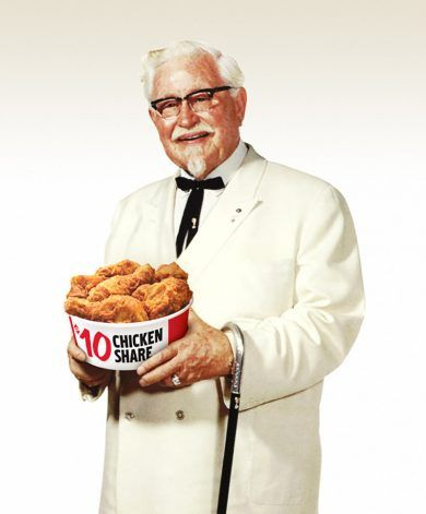 Historia del Kentucky Fried Chicken. La idea del Coronel Sanders.