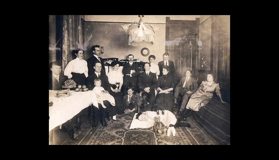 foto familia post mortem