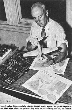 Wallis Rigby, el innovador de los aviones de papel