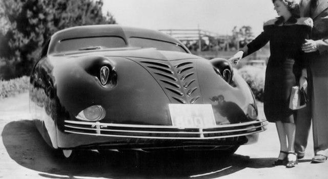 phantom corsair. un coche moderno de 1938
