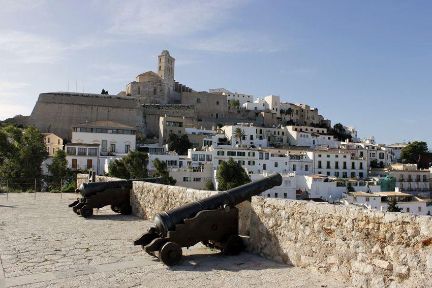 Dalt Vila, el barrio amurallado de Ibiza