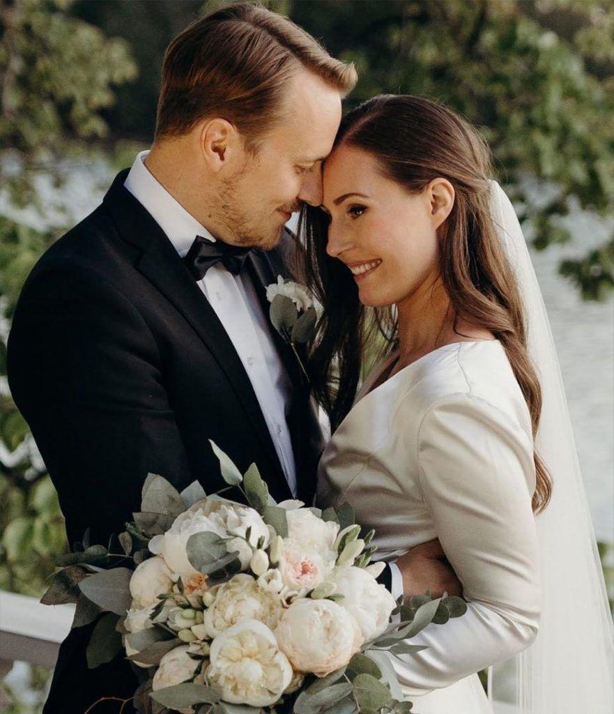 SANNA MARIN se casa con el ex futbolista Markus Räikkönen