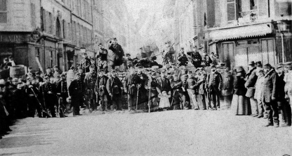 Cumuna de Paris. Origen del movimiento obrero. La I y la II Internacional