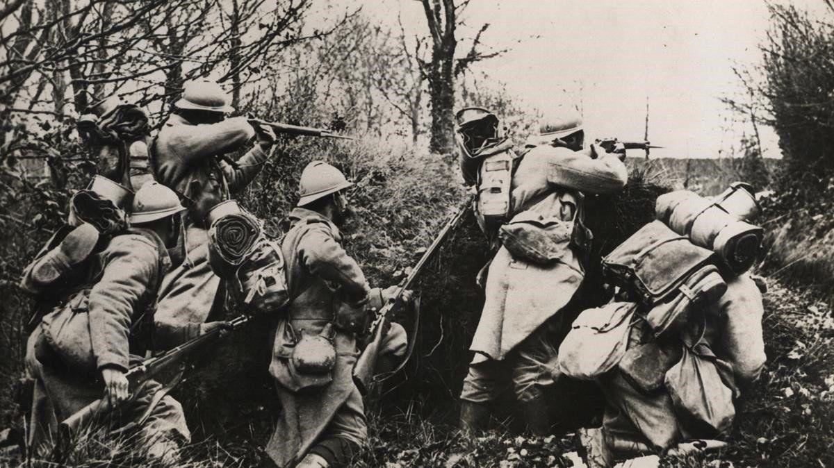 Ejercito frances. Primera Guerra Mundial