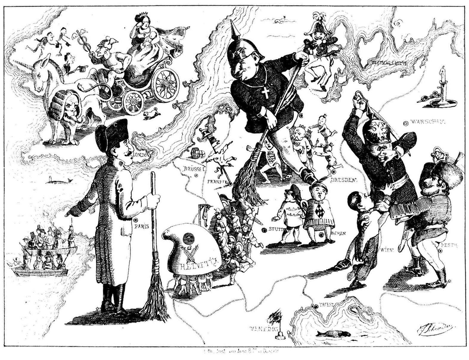 Las relaciones internacionales entre 1870 y 1914, el comienzo de la Gran Guerra