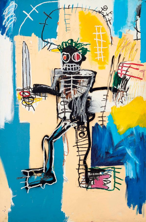Jean-Michel Basquiat, Warrior, 1982
