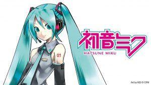 Influencers virtuales Hatsune Miku